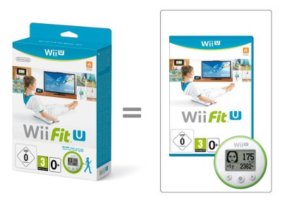 Wii Fit U & Wii Fit Meter Green - Wii U Game gaming   παιχνίδια ανά κονσόλα   wii u