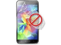 Μεμβράνη οθόνης Samsung Galaxy S5 - Puro Anti-fingerprints Screen Protector