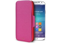 Θήκη Samsung Galaxy S5 - Puro Bi-Color Wallet Ροζ