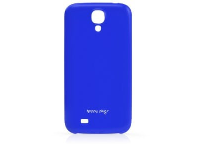 Θήκη & Μεμβράνη Samsung Galaxy S4 - Happy Plugs Ultra Thin Case 8828 Μπλε
