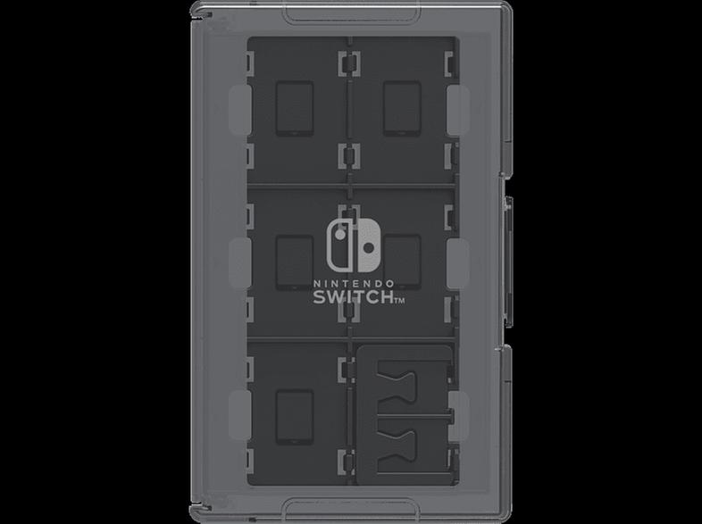 Hori Switch Game Card Case Black - Θήκη Καρτών Nintendo Switch - Μαύρο