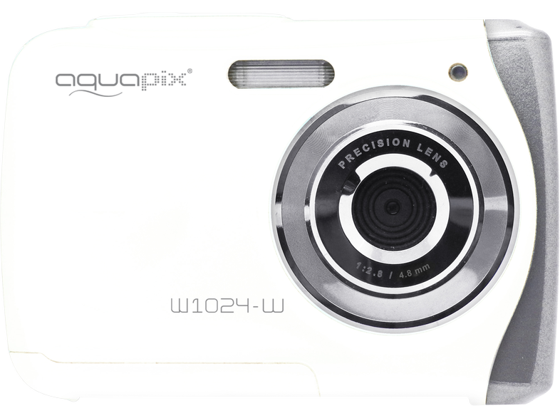 AQUAPIX 1024-W Splash Waterproof Camera Λευκή