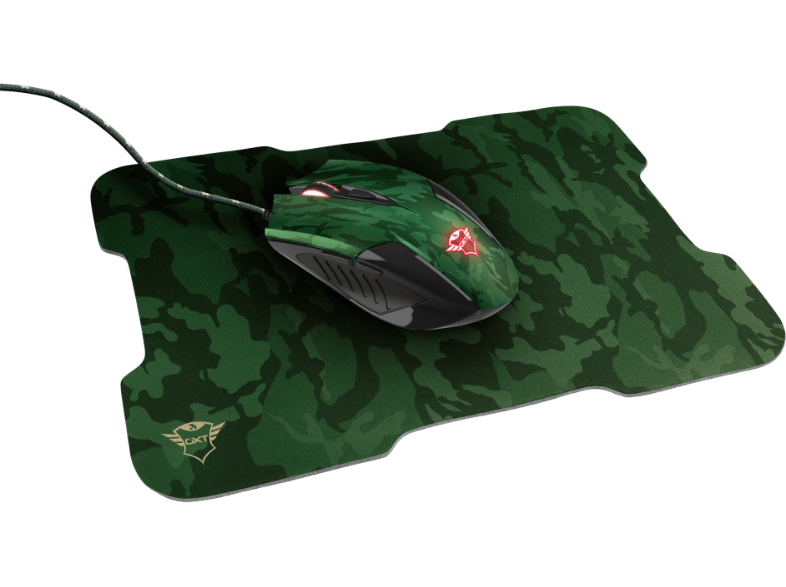 TRUST GXT781 Rixa Camo with mouse pad