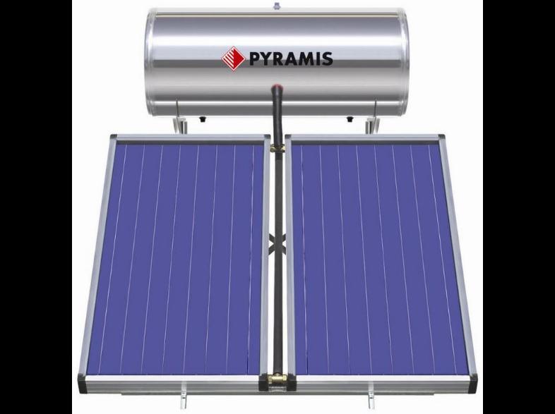 PYRAMIS 26000605 ΗΛ.ΘΕΡ.200LT ΕΠ.ΣΥΛ.2Χ2M2