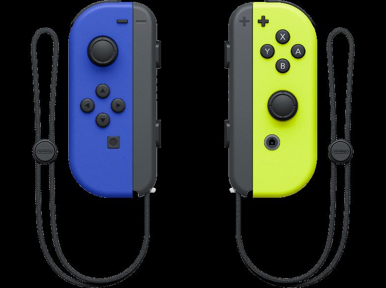 Nintendo Joy-Con Pack Blue/Neon Yellow - Χειριστήριο Nintendo Switch Μπλε/Κίτρινο