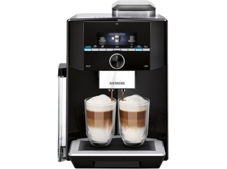 SIEMENS EQ.9 S300 Πλήρως Αυτόματη Καφετιέρα Espresso TI923309RW Black