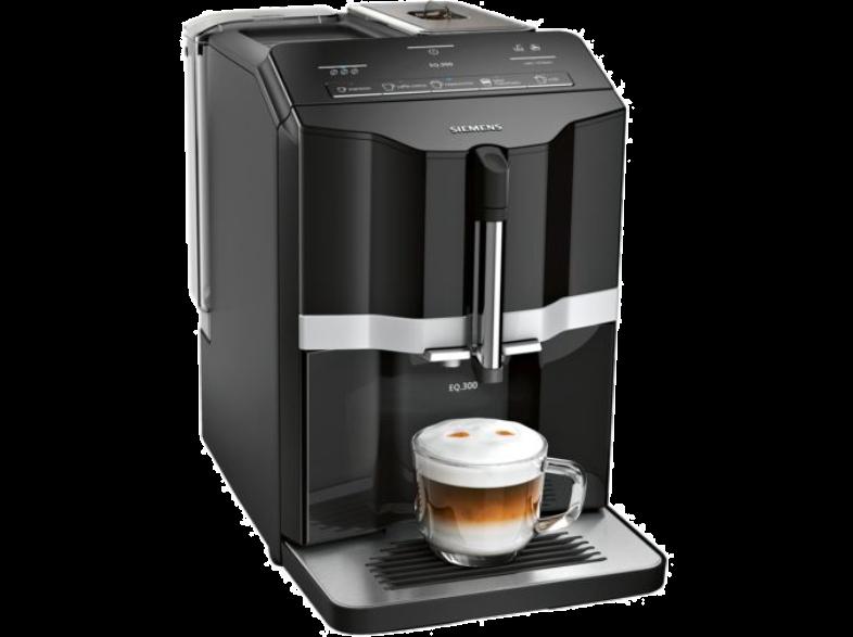 SIEMENS EQ.300 Πλήρως Αυτόματη Καφετιέρα Espresso TI351209RW Black