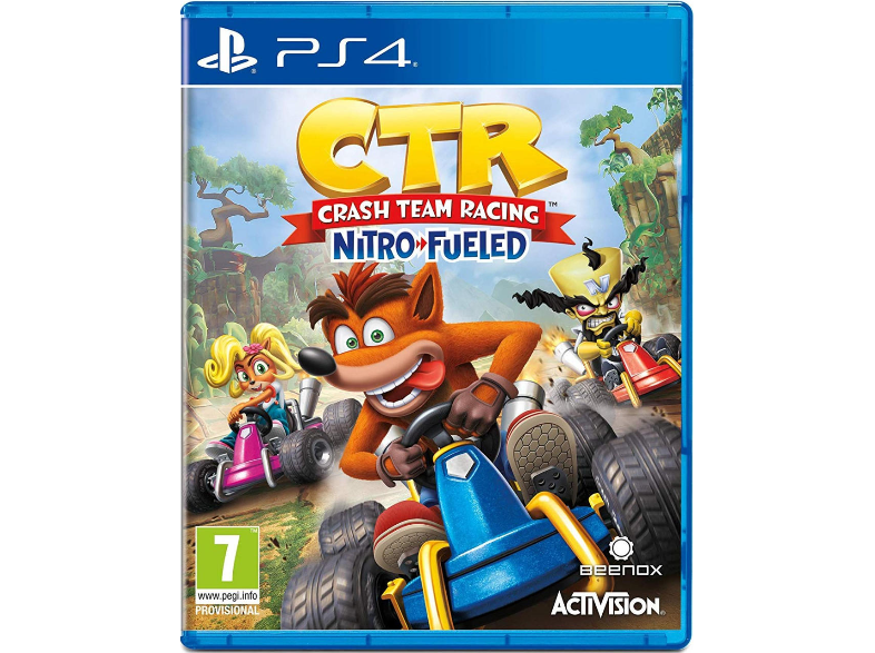 Crash Team Racing: Nitro-Fueled - PS4 Game