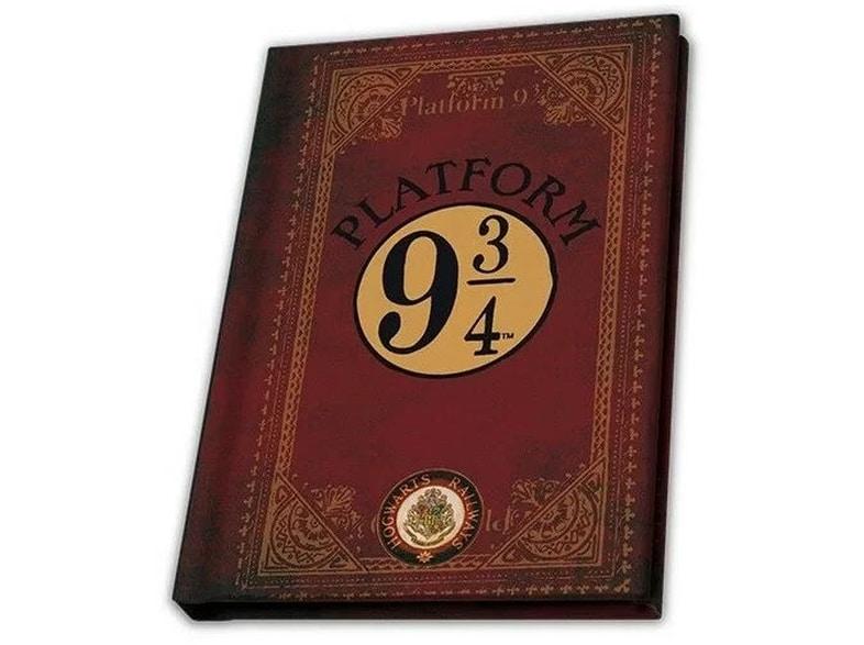 Σημειωματάριο Abysse Corp Harry Potter A6 Platform 9 3/4