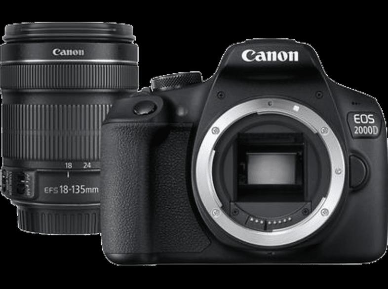 CANON EOS 2000D Kit μαζί με φακό EF-S 18-135 mm