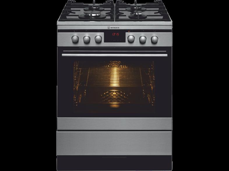 Κουζίνα Αερίου Και Ηλεκτρικού Morris Mkg 64201 Inox