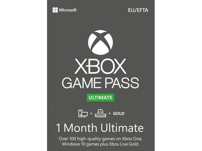 Microsoft Xbox Game Pass Ultimate - PC - Συνδρομή για 1 μήνα