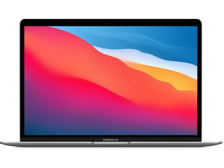 APPLE MacBook Air 13 M1/7C/8/256 - Space Gray με 2 έτη εγγύηση