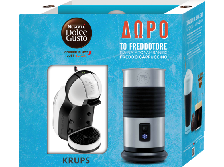 KRUPS Nescafe Dolce Gusto Minime Γκρι/ Μαύρο-KP123BFR