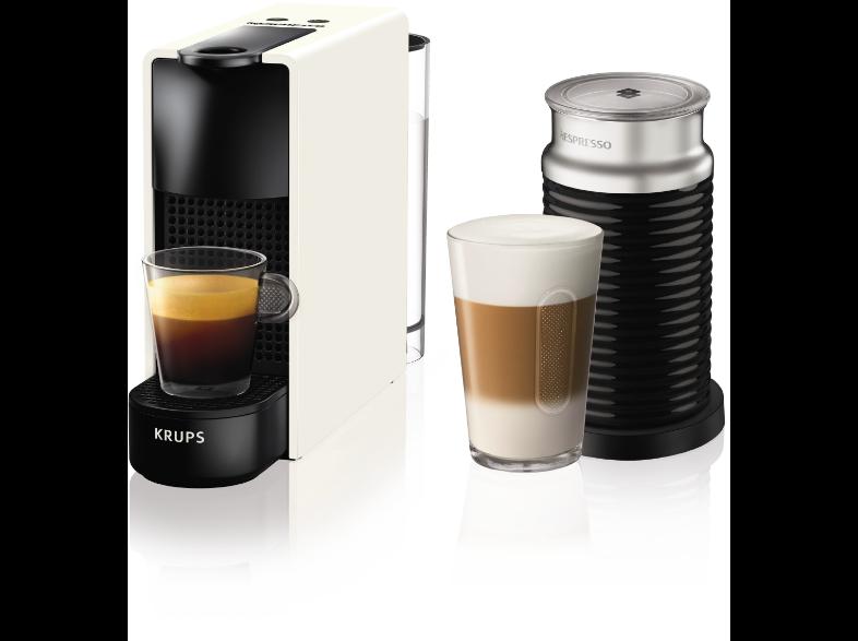 KRUPS Nespresso® XN1111S Essenza Mini Καφετιέρα Λευκή μαζί με Aeroccino