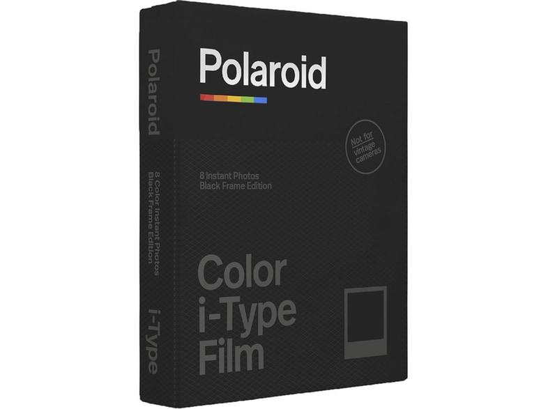 Polaroid Color i-Type Instant Film (Black Frame Edition, 1pack, 8 photos)