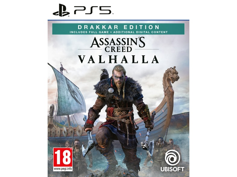 Assassin's Creed Valhalla Drakkar Edition - PS5 Game